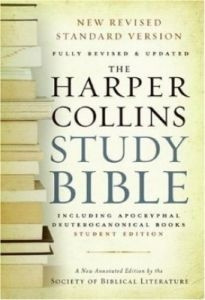 0060786841 | HarperCollins Study Bible with Apocrypha