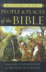 0195146417 | The Oxford Guide to People & Places of the Bible
