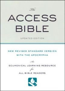 0199777535 | NRSV Access Bible with the Apocrypha Updated Edition