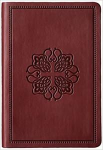 1581350600 | NASB Compact Bible Burgundy Cross Leathertex
