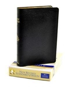 0195283589 | NRSV Text Bible - Genuine Black Leather