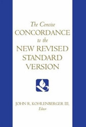0195284100 | The Concise Concordance to the NRV