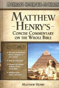0785250476 | Matthew Henry's Concise Commentary of the Whole Bible
