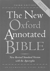 0195284852 | New Oxford Annotated Bible College