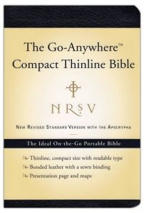 0061827215 | NRSV Go-Anywhere Compact Thinline with Apocrypha