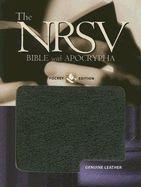 0195288319 | NRSV Pocket Bible Black Leather