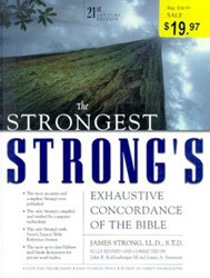 0310233437 | The Strongest Strong's Exhaustive Concordance of the Bible