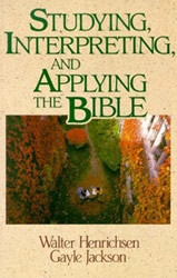 0310377811 | Studying, Interpreting, and Applying the Bible