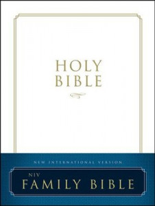 NIV Family Bible White Hardcover