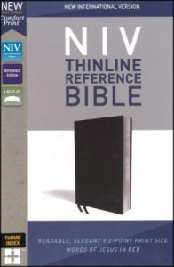 0310449669 | NIV Thinline Reference Bible