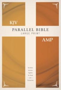 0310446856   KJV Amplified Parallel Bible Large Print Hardcover