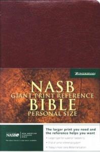 0310921465 | NASB Giant Print Reference Bible