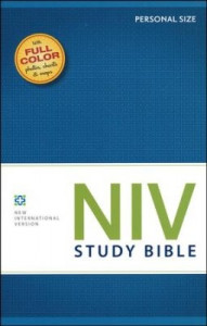 0310437334 | NIV Study Bible Personal Size Softcover