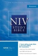 0310929776 | Study Bible Bonded Leather Black, Indexed