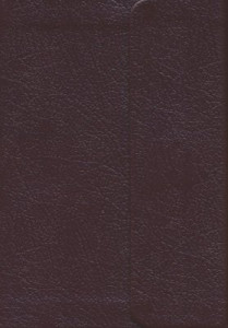 1598561103 | KJV Compact Large Print Reference Bible Bonded Leather Burgundy With Magnetic Flap Closure