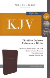 KJV Thinline Reference Bible (Comfort Print)