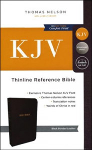0785215778 | KJV Thinline Reference Bible (Comfort Print)