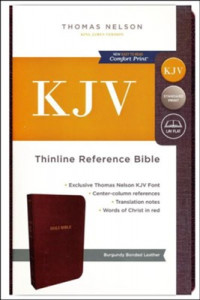 0785215786 | KJV Thinline Reference Bible (Comfort Print)