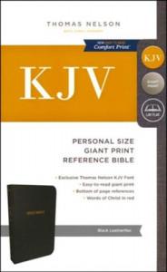 0785215468 | KJV Personal Size Giant Print Reference Bible (Comfort Print)