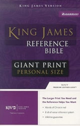 0310931959 | KJV Reference Bible-Giant Print Personal Size