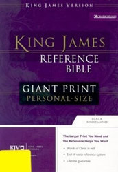 0310931967 | Reference Bible-KJV-Giant Print Personal Size