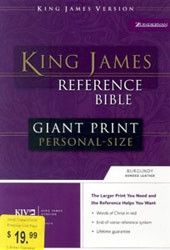 0310931975 | Reference Bible - Giant Print Personal Size