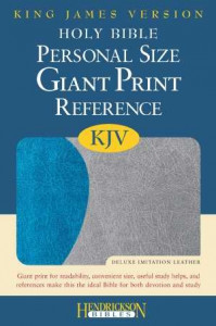 1598563882 | KJV Reference Bible-Giant Print Personal Size