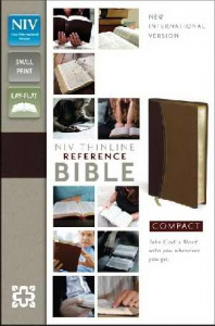0310436176 | NIV Compact Thinline Reference Bible Compact