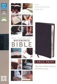 0310436362 | NIV Thinline Reference Bible Large Print