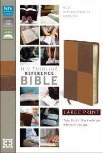 0310436346 | NIV Thinline Reference Bible Large Print