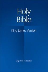 052116334X | KJV Large Print Text Bible