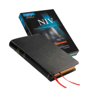 110765789X | NIV Pitt Minion Reference Bible Goatskin Leather black