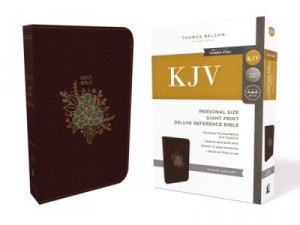 0785215581 | KJV Personal Size Giant Print Reference Bible