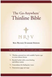 0062026933 | NRSV Go Anywhere Thinline Bible