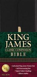 0718003276   KJV Classic Companion Bible-Snap Flap