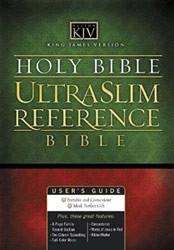 0718009673 | KJV Ultraslim Center-Column Reference Bible