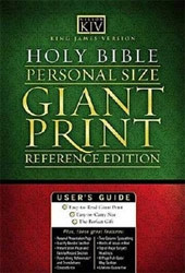0718012356 | Personal Size Giant Print Reference Bible-KJV