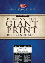 0718013549 | NKJV Personal Size Giant Print Reference