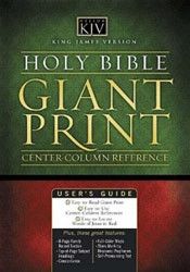 0785202919 | KJV Giant Print Classic Reference Bible-Center Column