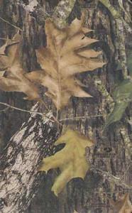 1418546747   KJV UltraSlim Bible Mossy Oak Camouflage LeatherSoft