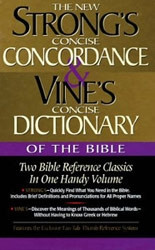 0785242554 | Strong's Concise Concordance and Vine's Concise Dictionary of the Bible