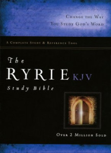 080248901X | KJV Ryrie Study Bible Black Genuine Leather Indexed