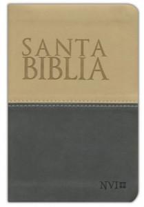 1563207982 | NIV Spanish Compact Bible Charcoal/Ivory DuoTone