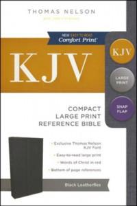 0785215875 | KJV Compact Large Print Reference Bible (Comfort Print)