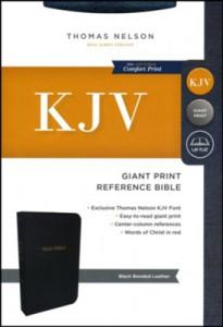 0785215352 | KJV Giant Print Reference Bible (Comfort Print)