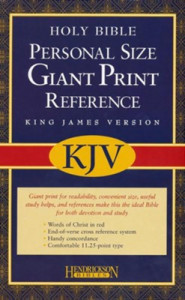 1598560956 | KJV Personal Size Giant Print Reference Bible