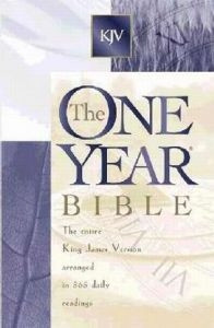 084232576X | KJV One Year Bible