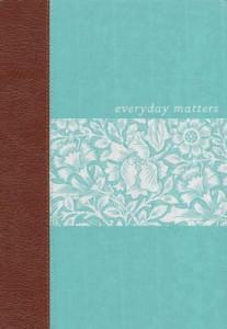 1619700115   NLT Everyday Matters Bible for Women Deluxe Hardcover
