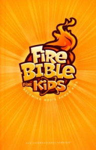 0736104496 | NIV Fire Bible For Kids Hardcover (1984)