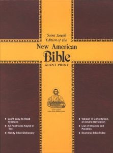 0899426174 | NAB St. Joseph Giant Print Bible